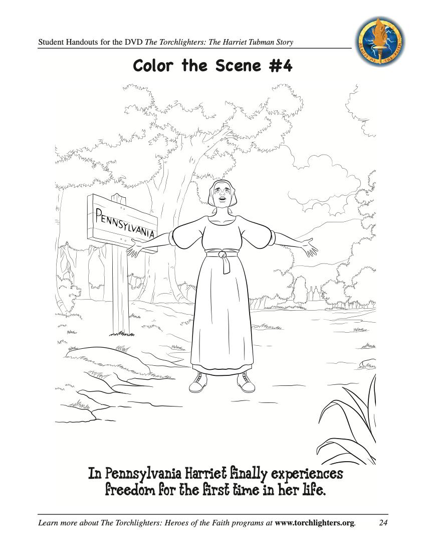 Harriet Tubman Activities | The Torchlighters