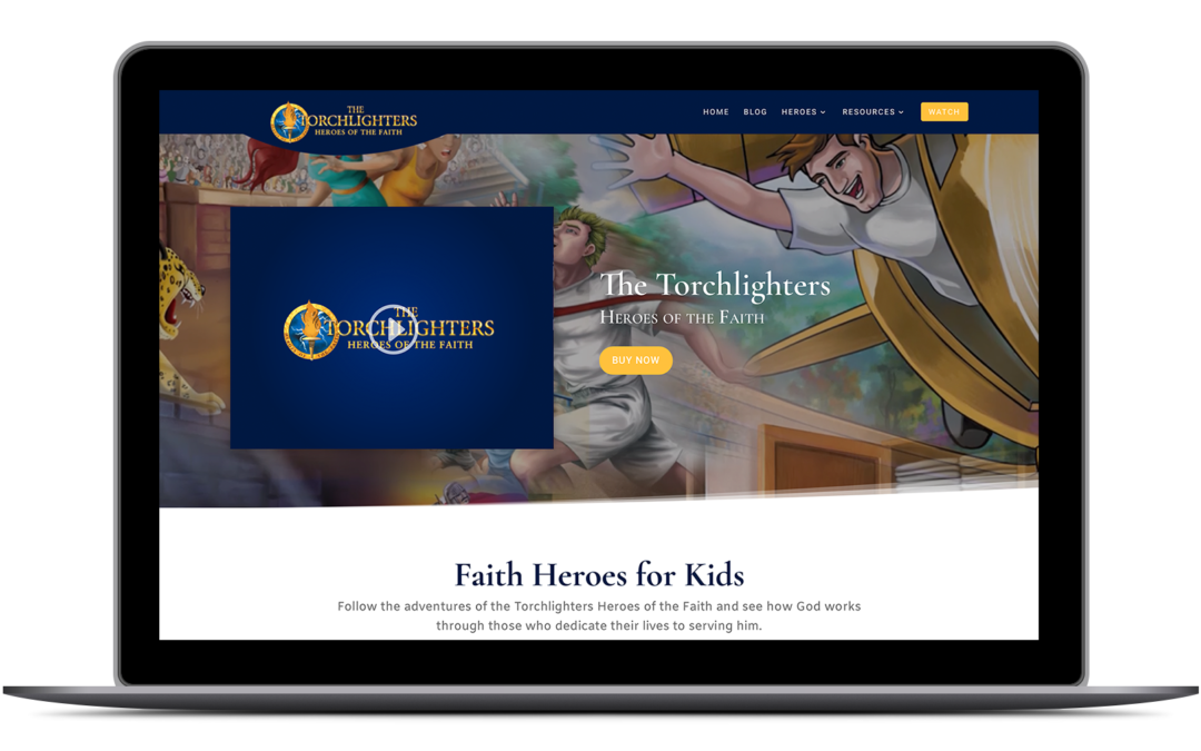 A new look for our Torchlighters website